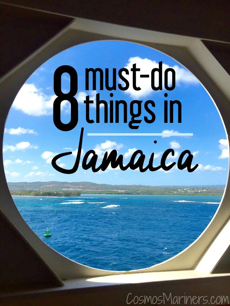 8 Must-Do Things to Do in Jamaica | what to do in Jamaica | waterfalls in Jamaica | Martha brae river rafting | Dunns River Falls | cruising to Jamaica| CosmosMariners.com