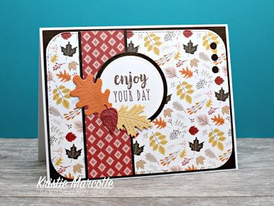 Carta Bellau0027s Hello Fall   Cards From Paper Pad