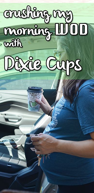 Mornings are always a rush because I love my sleep! I can't get anything done without my caffeine fix, so keeping a stack of @DixieProducts is imperative. #CupForCrushingIt #ad