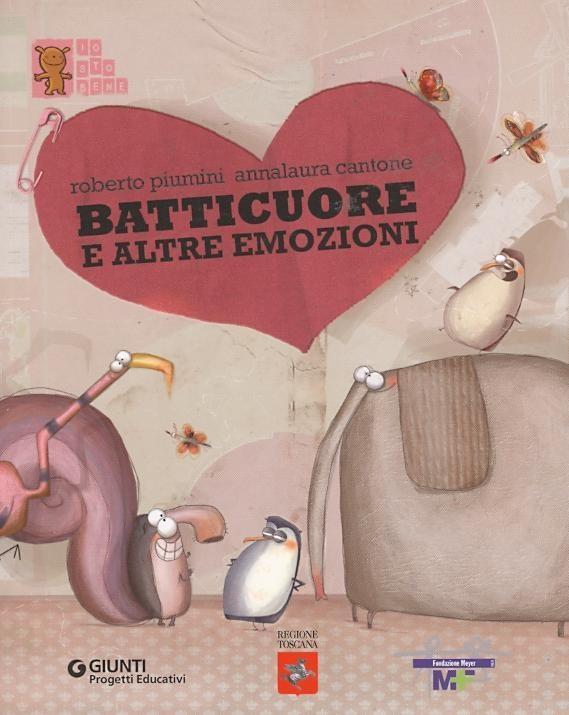 """""""Batticuore e altre emozioni"""" di Roberto Piumini"""