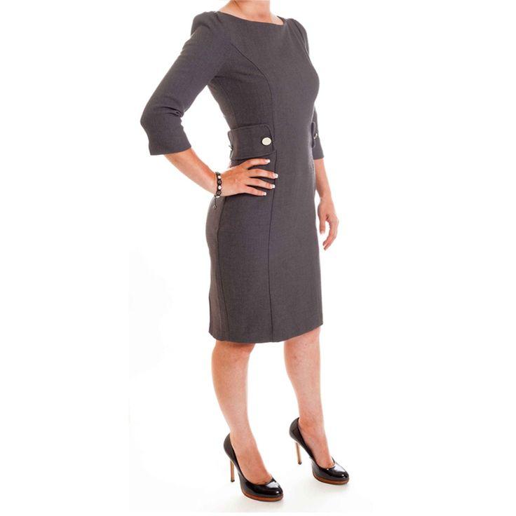 Glorious Grey Work Dresses