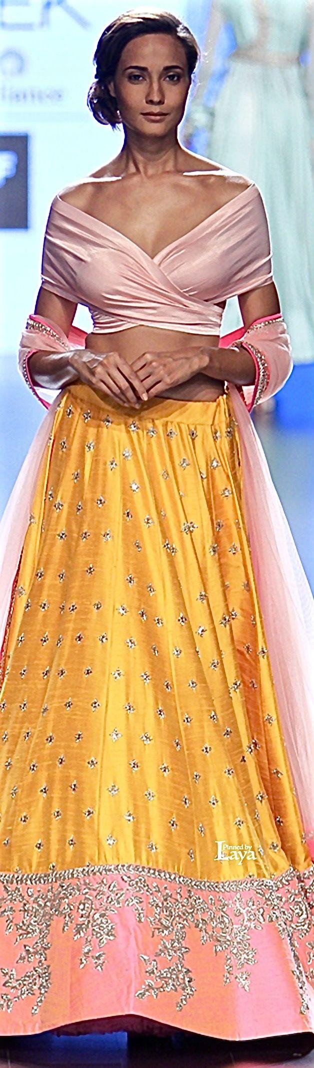 Anushree Reddy at Lakmé Fashion Week summer/resort 2016