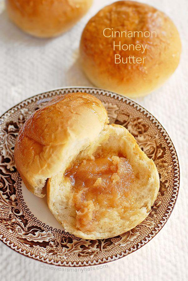 Cinnamon Honey Butter by shewearsmanyhats #Butter #Cinnamon #Honey