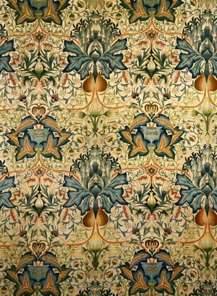 pattern: the artichoke, William Morris, 1877 #uncommongoods