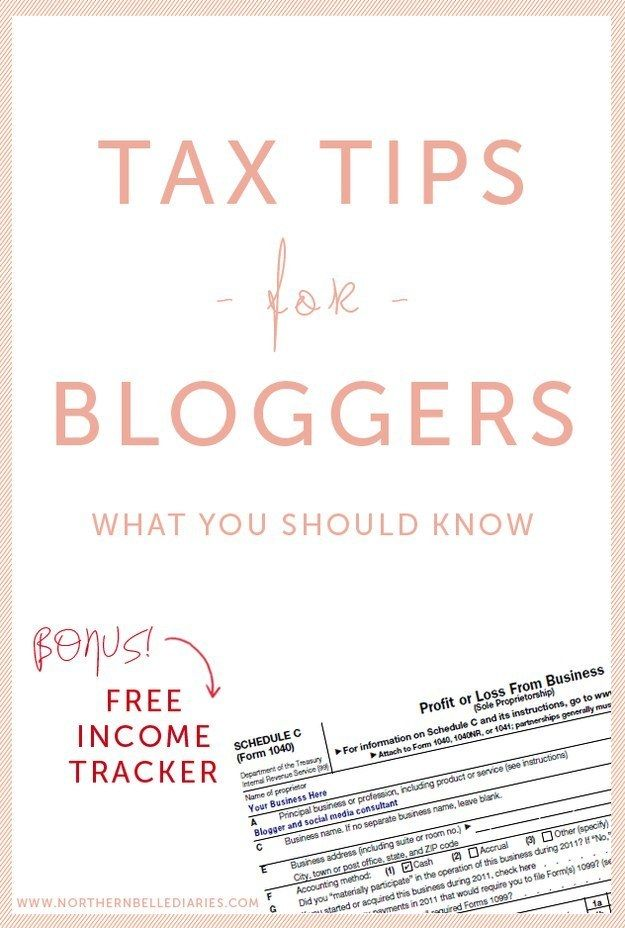 If you make money from your blog in any way, figure out if you should be filing for self-employment taxes.   19 Ridiculously Useful Tips Every Blogger Should Know