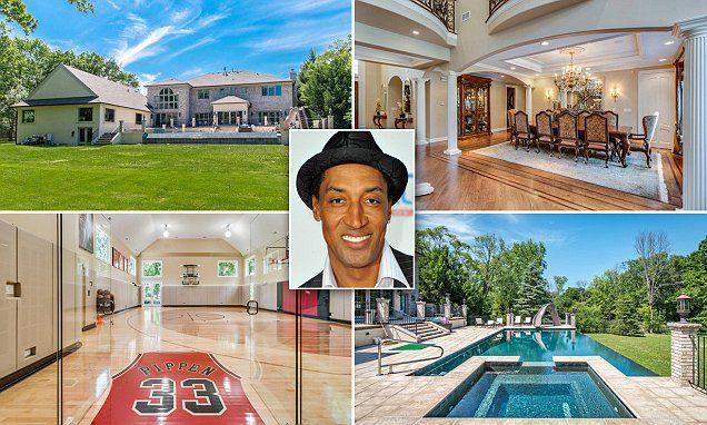 Chicago Bulls legend Scottie Pippen's mansion hits the market for $3m