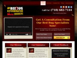 New listing in Pest Control Services added to CMac.ws. A1 Bed Bug Exterminator Brooklyn in Brooklyn, NY - http://pest-control-services.cmac.ws/a1-bed-bug-exterminator-brooklyn/19262/