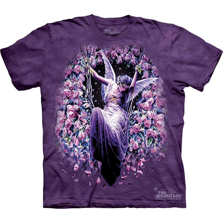 GATEKEEPER Fairy The Mountain Mythical Angel Faerie Roses T-Shirt S-3XL NEW #TheMountain #GraphicTee