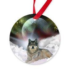 fantasy wolf Ornament $12.99