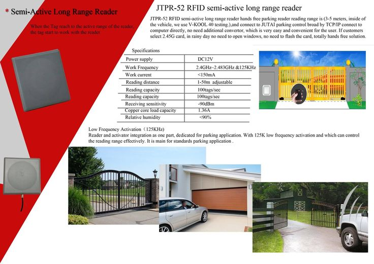 2.45G long rang reader used for auto gate.