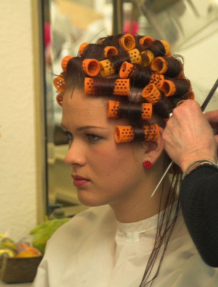Boy fetish hair roller