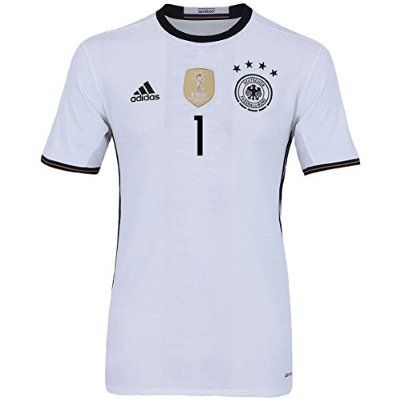 Neuer #1 Germany Home Soccer Jersey Euro 2016