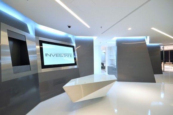 1000 images about proyectos recepciones on pinterest for Iluminacion oficinas modernas