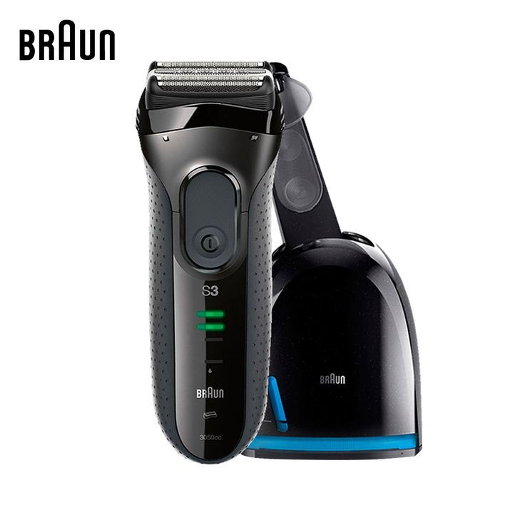 149.56$  Buy now - http://alio6a.worldwells.pw/go.php?t=32460914474 - Braun Electric Shavers 3050cc Men Electric Razors Washable  Reciprocating Blades Automatic Cleaning Center