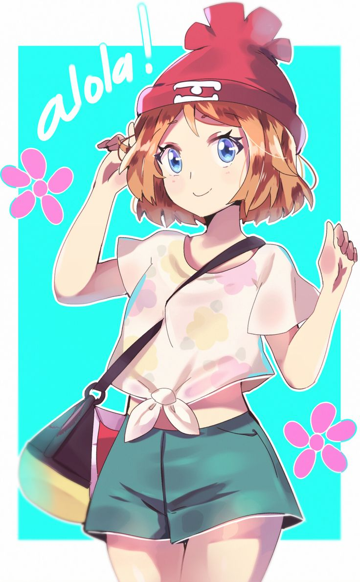"""aionyan: """"– such a cutie and sadly we didnt have her in sun&moon anime uvu… """""""