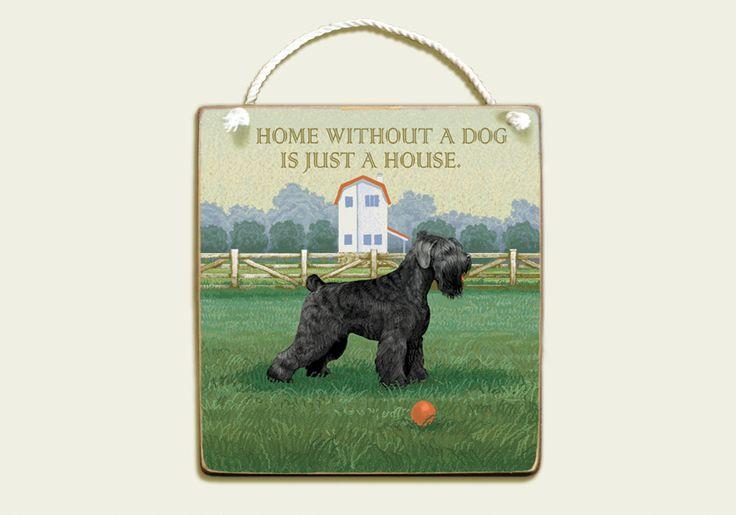 Сustom dog art, Black Russian Terrier, personalized dog name, custom pet, dog dad gift, pet portrait, dog lover gift, pet memorial by SavchenkoHomeDecor on Etsy