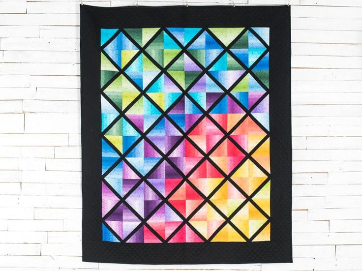 359 best Modern Quilts & Patterns images on Pinterest | Templates ... : ombre quilting fabric - Adamdwight.com