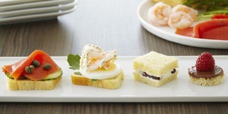 Anna Olson's brioche tea sandwiches from her show Bake With Anna Olson.