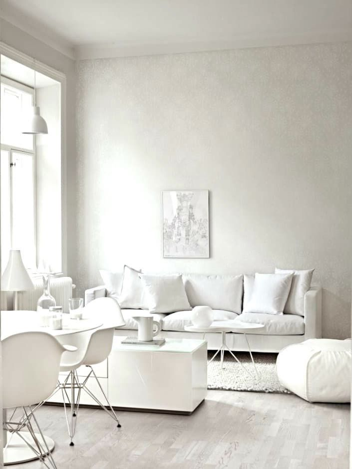 Break The Rules: 12 Beautiful Rooms That Don White Well Past Labor Day.  Nice RoomsWhite Living Room SetLiving ...