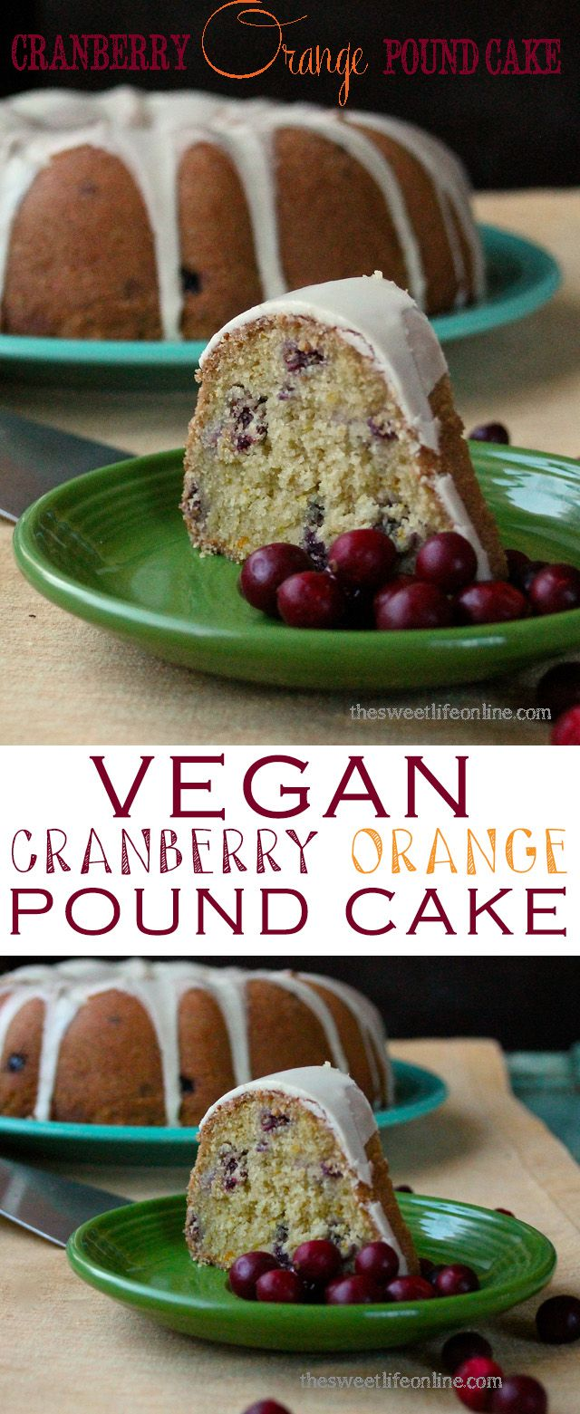 146 best vegan christmas recipes images on pinterest vegan recipes orange cranberry pound cake vegan sweetsvegan dessertscranberry recipes sisterspd