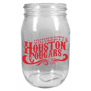 The perfect drinking glass for your summer cookouts!!! Its a little bit country and a whole lot of Houston Cougars!!!