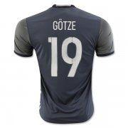 Germany National Team 2016 GOTZE #19 Away Soccer Jersey [C510]