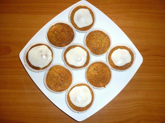 Carrot Cupcakes – Karottenmuffins