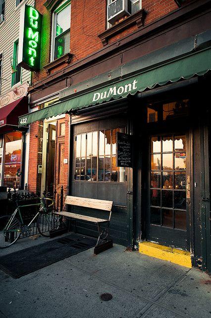 Dumont new york a favorite pinterest for Domont restaurant