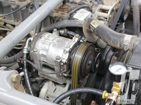 Check out how to get endless air for your Jeep as we show you a cheap homemade engine driven onboard air system. See how you can use a Sanden compressor to supply your Jeep with air in this month's issue of Jp Magazine!