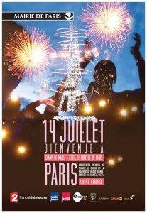 Fuochi d'artificio dalla Tour EiffelIl 14 luglio è festa nazionale in Francia.  226 anni fa esatti la presa della Bastiglia sanciva la fine simbolica dell'Ancient Regime e l'inizio della Rivoluzione.