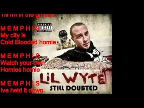 M.E.M.P.H.I.S. (Lyrics)- Lil Wyte Ft. Misc & Al Kapone