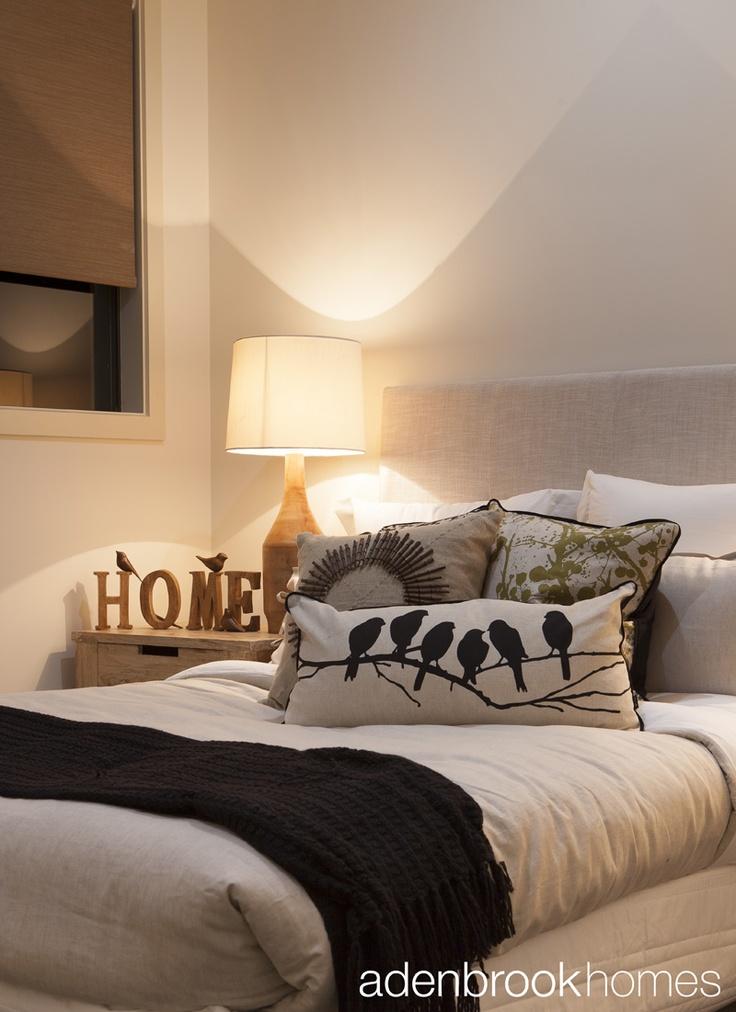 Bed decoration.