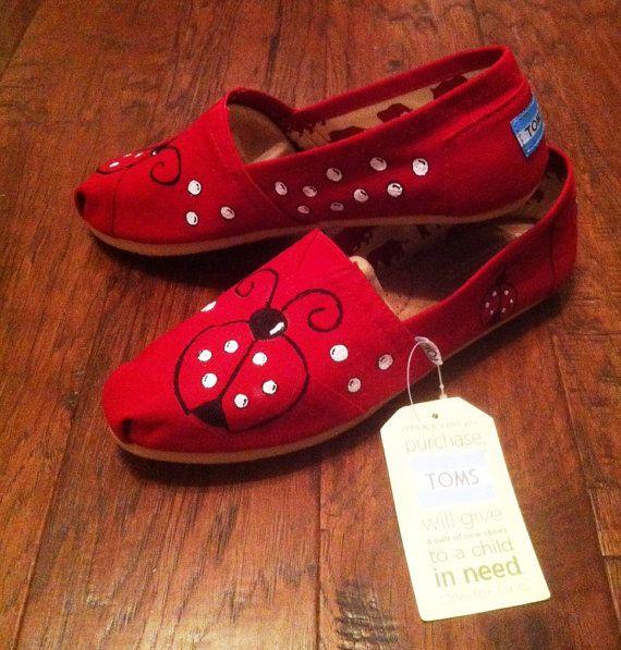 Ladybug TOMS shoes