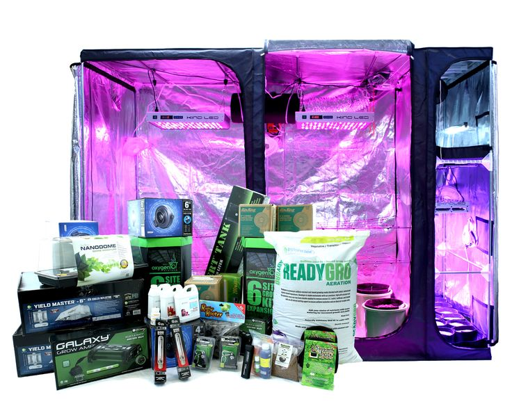 Indoor Hydroponic Grow Box System
