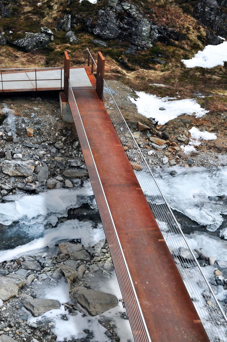 Frederick gent school olympic legacy structure inspiration from - Reiulf Ramstad Architects Trollstigen National Tourist Route Project Divisare
