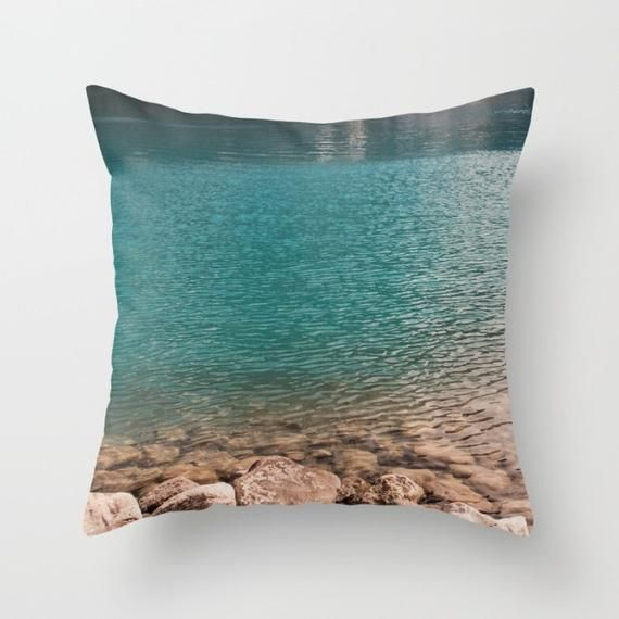 Turquoise Decorative Throw Pillow Cover