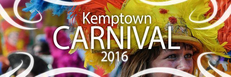 The Kemptown Carnival #Brighton returns in 2016 - It's biggest yet! Sat 4th Jun 16