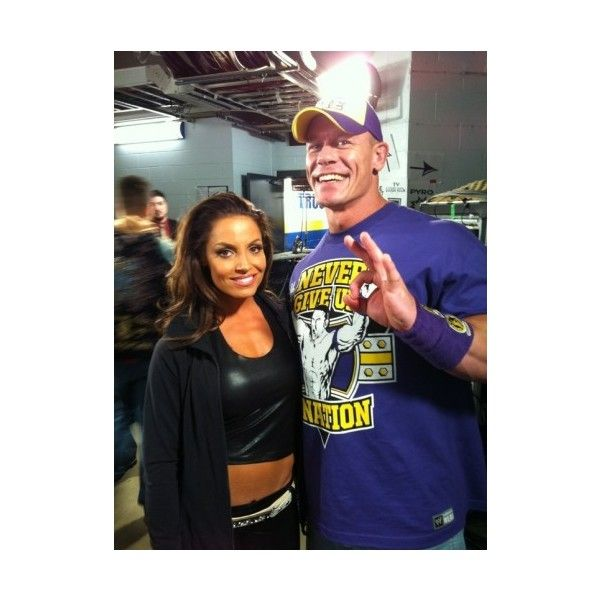 Trish Stratus | WWE Superstars ❤ liked on Polyvore featuring pictures, wwe and john cena