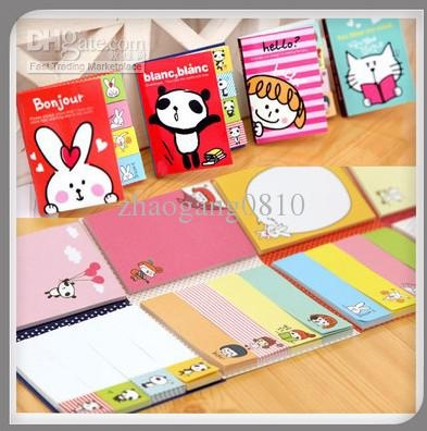 Wholesale KAWAII Funny Sticker Post-It Bookmark Point It Marker Memo Flags Sticky Notes, Free shipping, $2.3-3.31/Piece | DHgate
