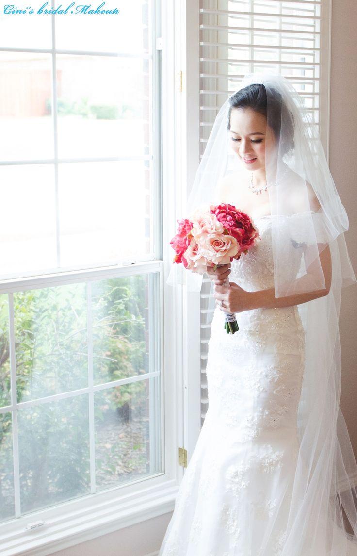 17 best Korean bride hairstyle images on Pinterest   Bridal ...