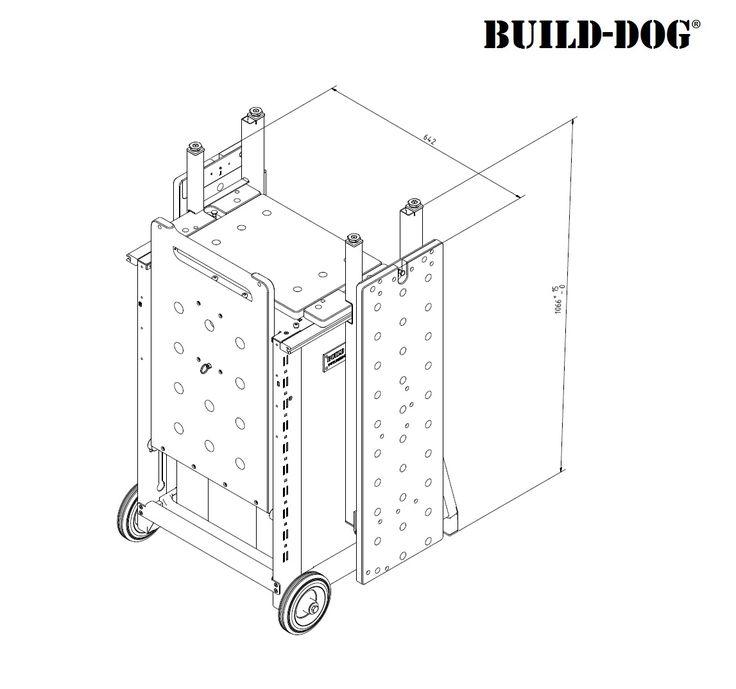 Build-Dog Basis-set in 2020 - Werktafel, Werkbank en ...