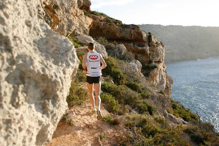 Running Session in El Toro, Mallorca with Pro Triathlete Andreas Lindén. Photo: Ida Carr - idacarr.se #mallorca #nature #running #triathlon #training
