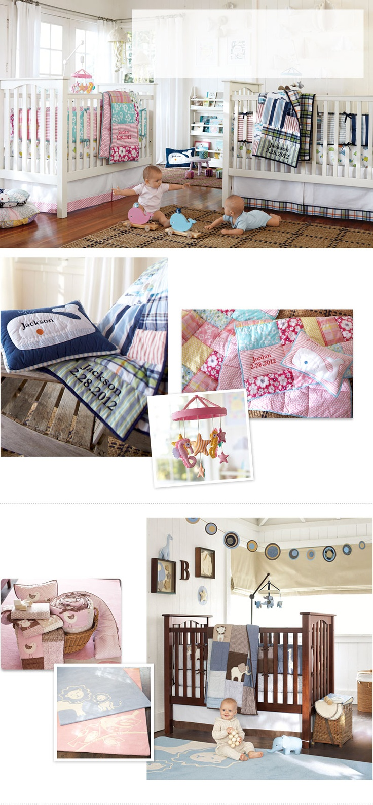 Baby Nursery Decorating Ideas & Baby Design Ideas | Pottery Barn Kids