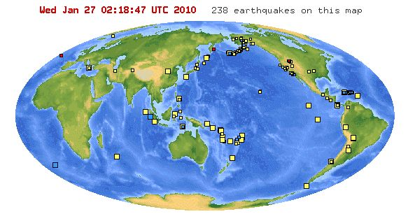 Originally posted on March 16, 2010    Use the US Geologic Society  website to print out a copy of the most recent earthquakes .  Provide st...