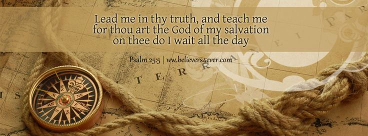 Lead me in thy truth - Free FB timeline cover