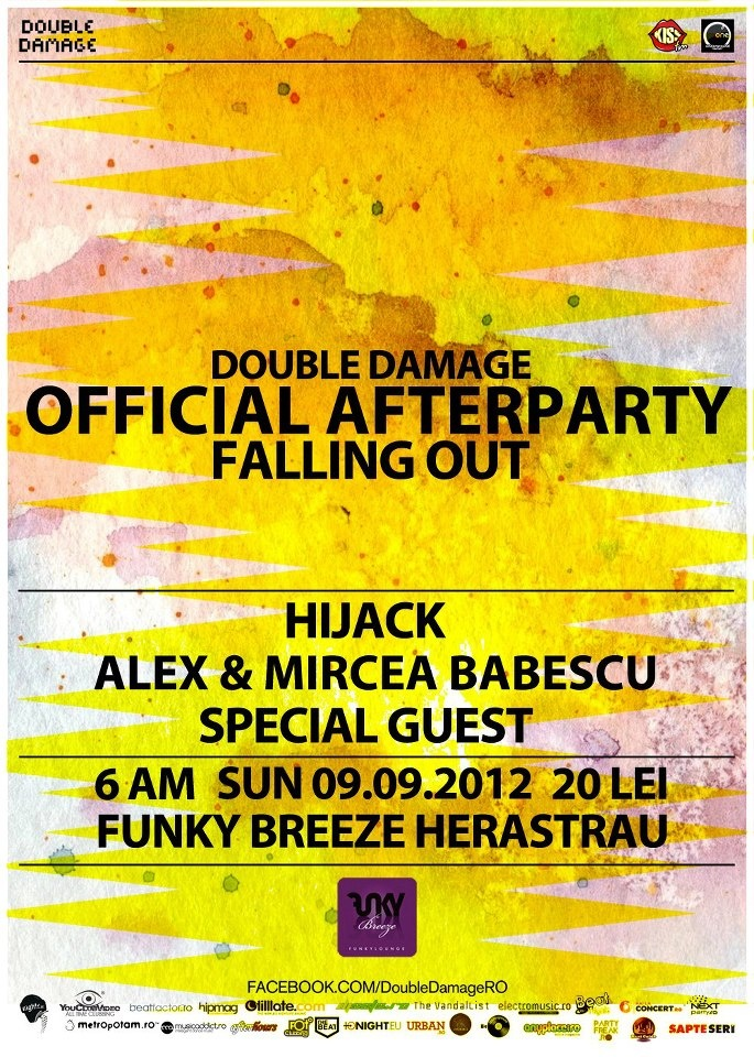 Double Damage Falling Out Afterparty @ Funky Breeze Herastrau