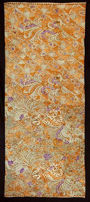 Cotton Batik Pagi-Sorè from Java, Indonesia