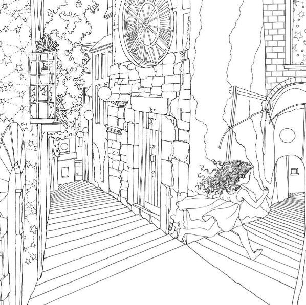 19 best images about Coloring: Daria Song on Pinterest