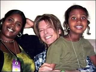 David with Iman Family .... Iman daughter with his daughter ;-)