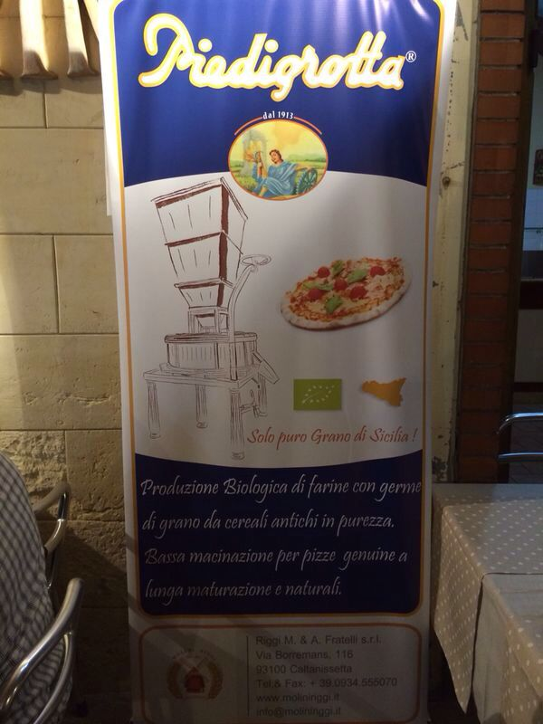 Piedigrotta since 1913. Authentic genuine product of Sicily.